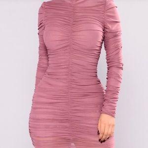 Mauve Pink Fashion Nova Dress